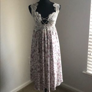 Victoria's Secret Paisley nightgown slip.